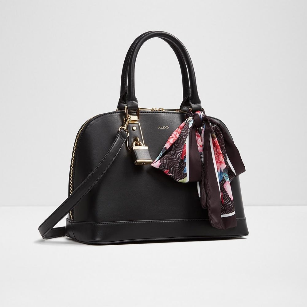 400ba599d64 Aldo Yilari Top Handle Bag Black