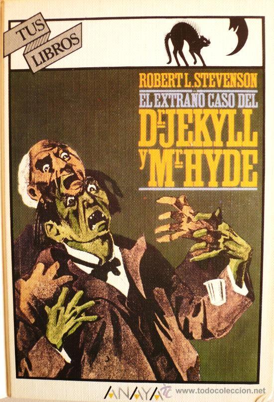 El extraño caso del Dr. Jekyll y Mr. Hyde.    Robert.  L. Stevenson, S.G. Hulme Beaman (il.)   Las noches se llenan de horror en un Londres frío y desapacible.