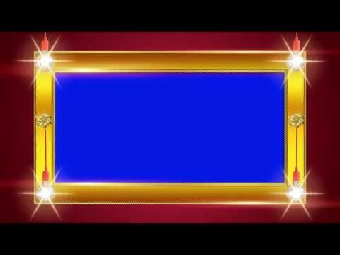 Download Excellent Wedding Frame Blue Screen Background Video Effects In Full Hd 1920x1080p I Have In 2020 Wedding Frames Green Screen Video Backgrounds Blue Screen