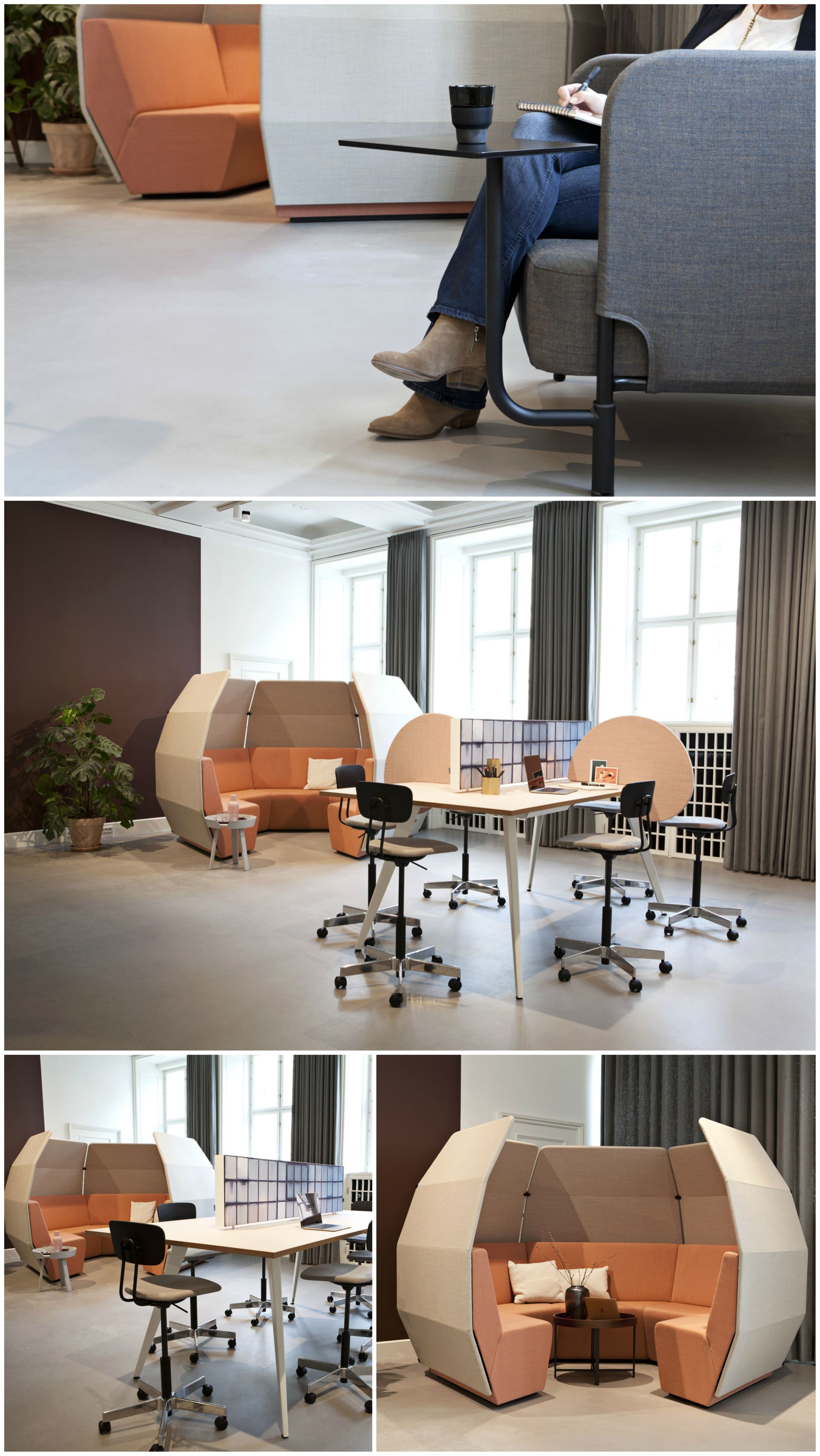Creative Meeting And Soft Seating Area Using Our Igloo Hub Designed By Aart Architects Soft Seating Area Lounge Areas Soft Seating