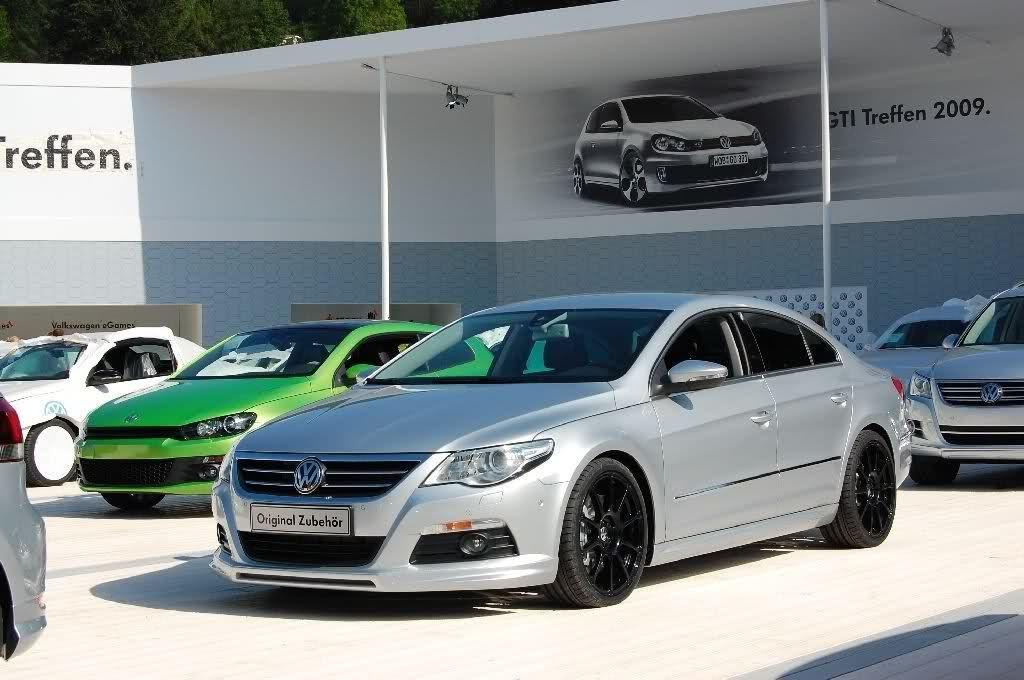 Optional Motorsport 19 Volkswagen Wheels On 2012 Cc R Line