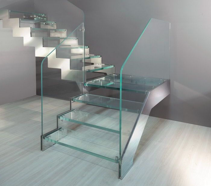 Escalera de vidrio buscar con google the dream house - Escaleras de vidrio ...