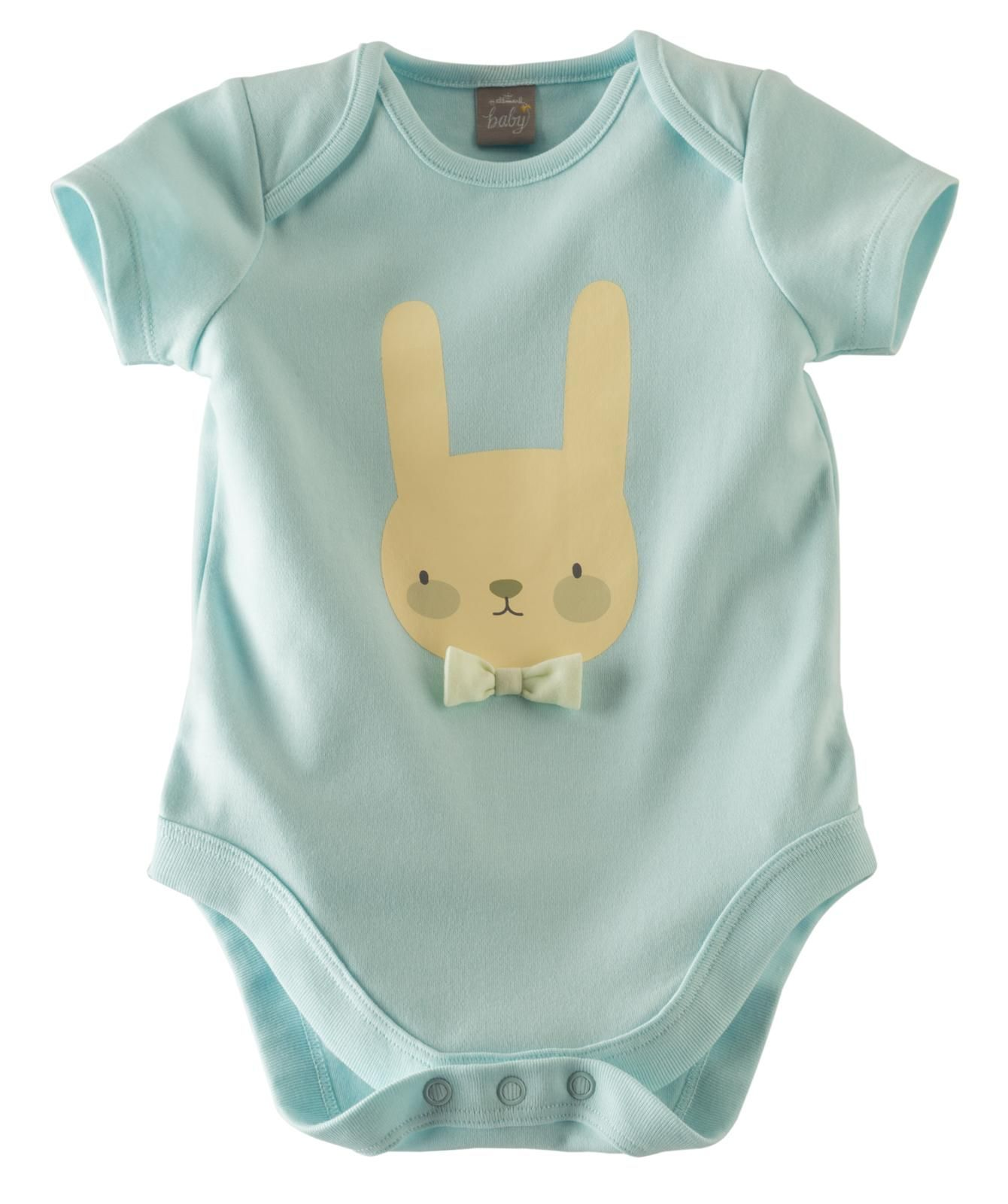 Sleepy Bunny Body Suit Blue