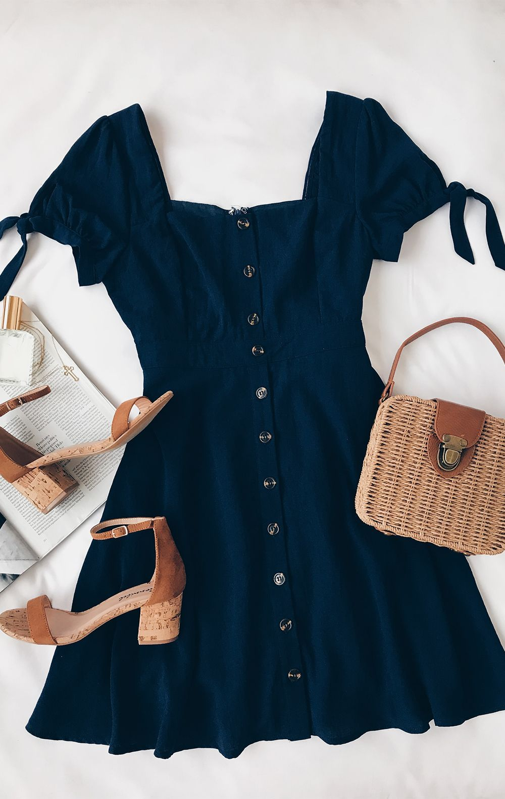 64+ Charming Spring Work Outfits To Wear To The Office is part of Dresses - Find and save ideas about spring style on Women Outfits    See more ideas about Outfit Trends 2019, Fashion clothes and looks