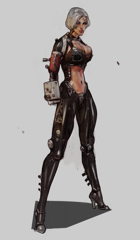 Scifi-Fantasy-Horror com | Fantasy art in 2019 | Cyberpunk