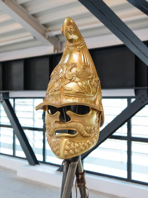 Ancient Bronz Helmet, Ancient Armor, Quality Art Museum