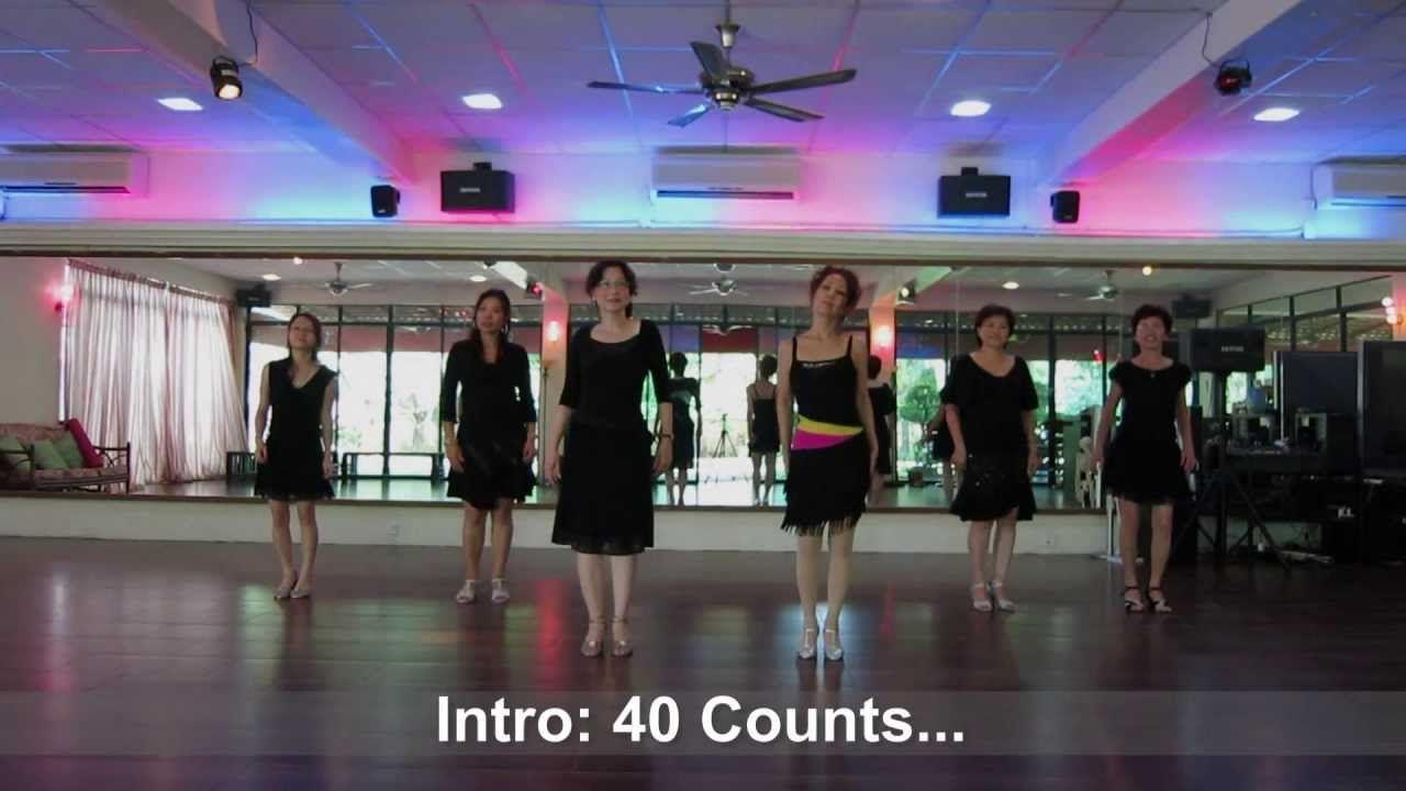 A Moment To Remember (La Paloma) - Line Dance