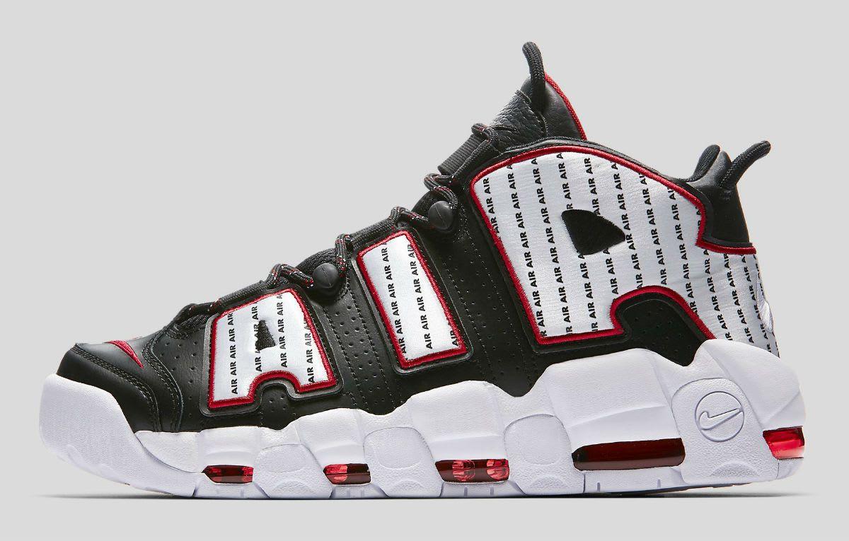 cheaper 680dd a41e7 Nike Air More Uptempo Pinstripe 97 Release Date AV7947-001 Medial Chicago  Bulls, Nba