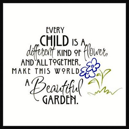 Every Child Is A Different Kind Of Flower Reggio Resources