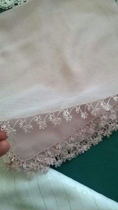 Beautiful bridal oya lace
