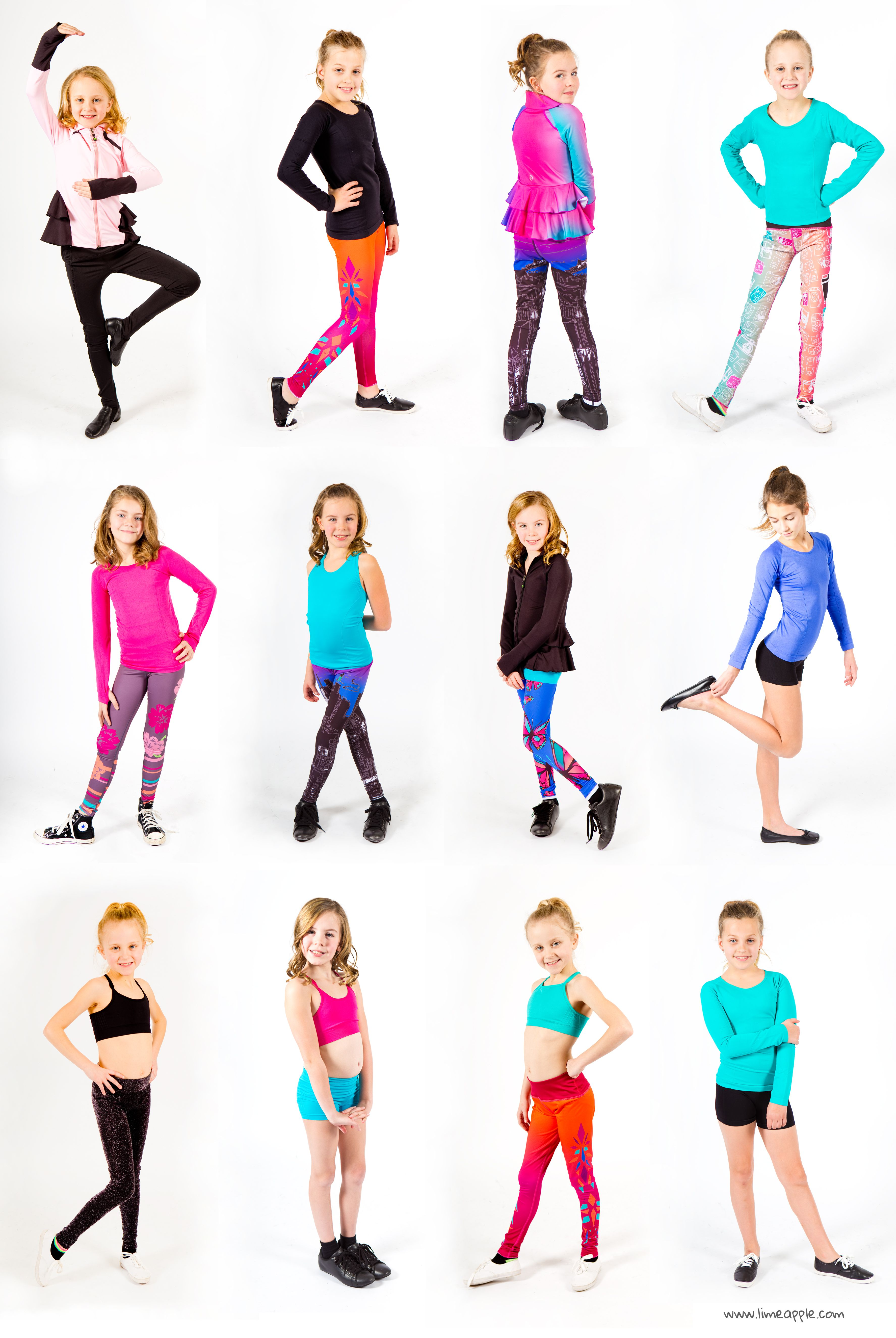 Activewear And Workout Gear For Tween Girls  Kids -1463