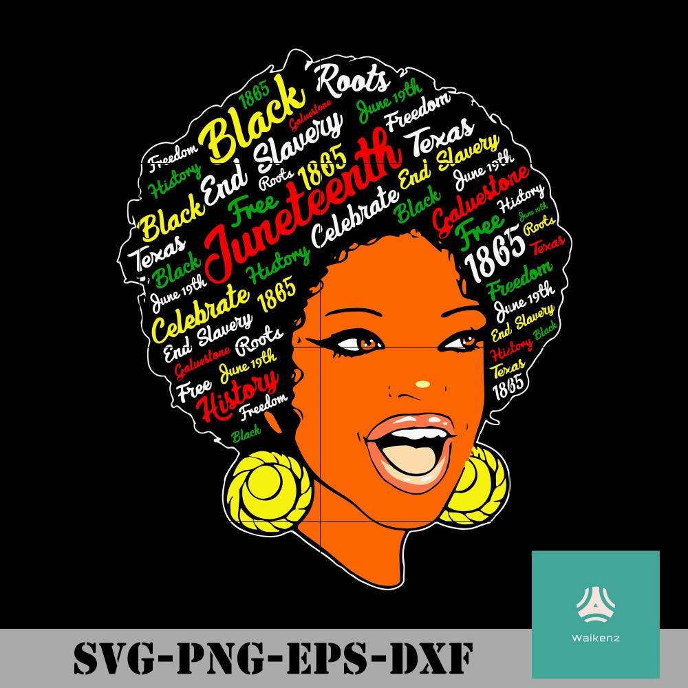 Black Women 1865 svg, png, dxf, eps digital
