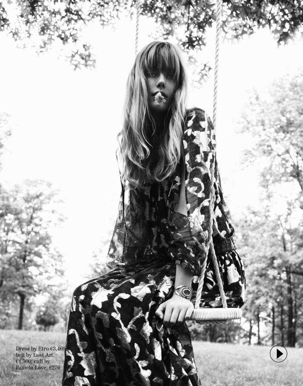 Publication: Porter Magazine #4 Fall 2014 Model: Frida Gustavsson Photographer: Cedric Buchet Fashion Editor: Laura Ferrera Hair: Sophie Roberts Make-up: Sam Addington