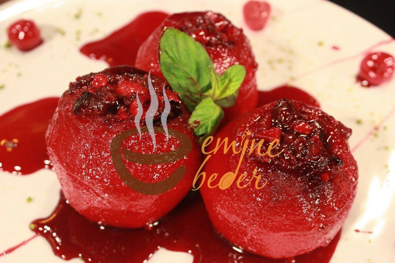 Vişneli Elma Tatlısı
