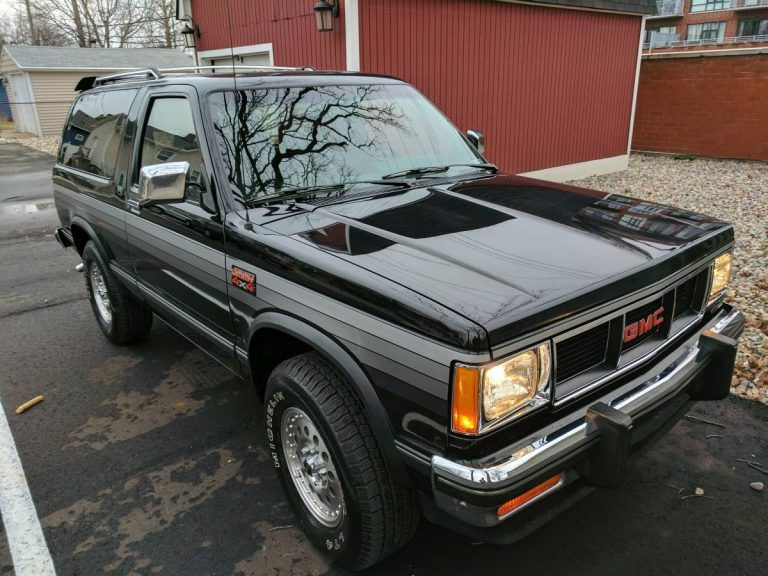 Rare Rides Is This 1988 Gmc S15 Jimmy Worth 15 000 Gmc Classic Trucks Best Classic Cars