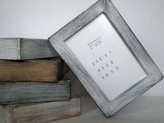 Silver Photo Frame Gold Picture Frame 10x10 Frame 25x25cm Frame Home Decor Wedding Frame Painted Frames Handmade Solidwoodshop Rustic Picture Frames Gold Picture Frames White Photo Frames