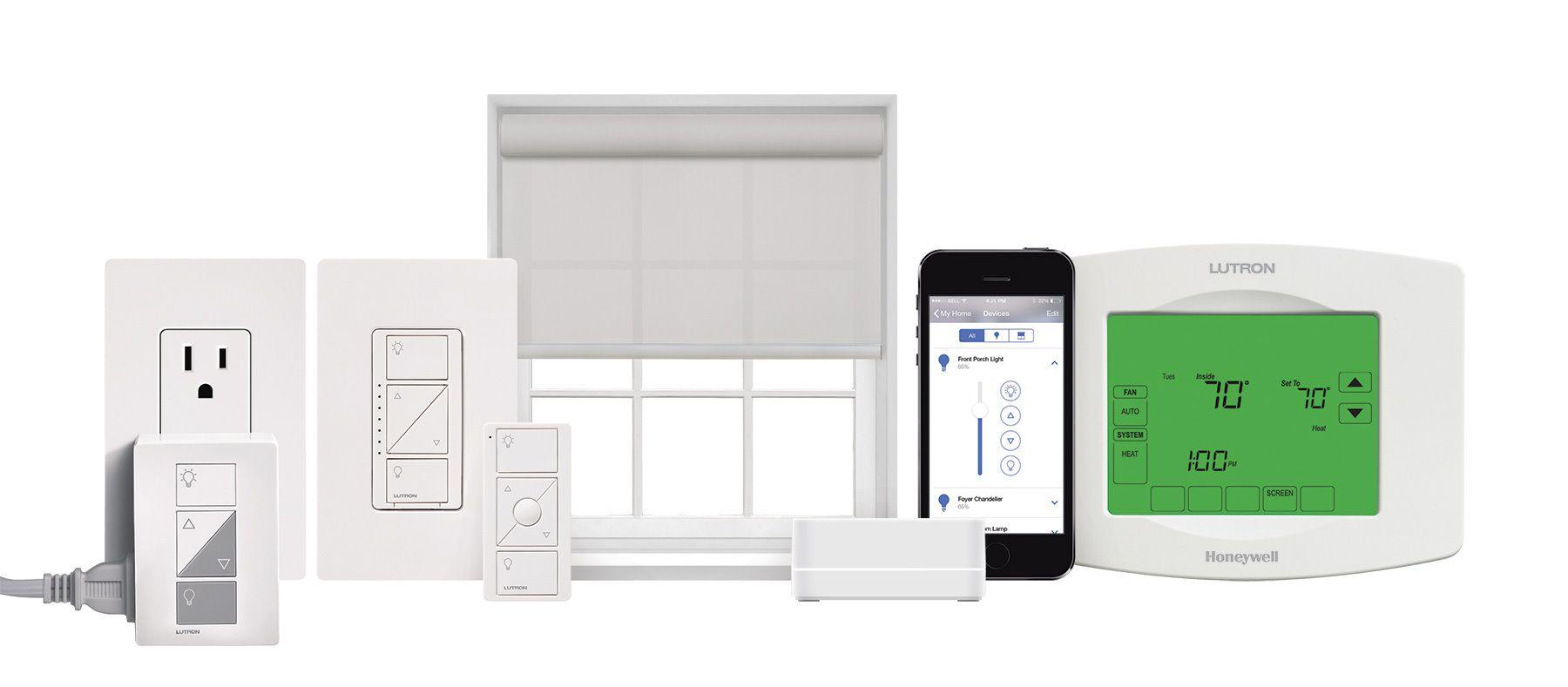 Lutron Serena And Sivoia Qs Triathlon Shades Now Compatible With Its Apple Homekit Enabled Caseta Wireless Smart Bridge Lutron Kit Homes Lighting Controls