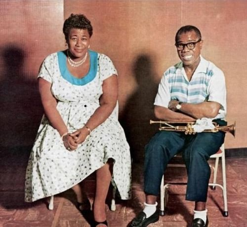 Ella Fitzgerald and Louis Armstrong, 1956