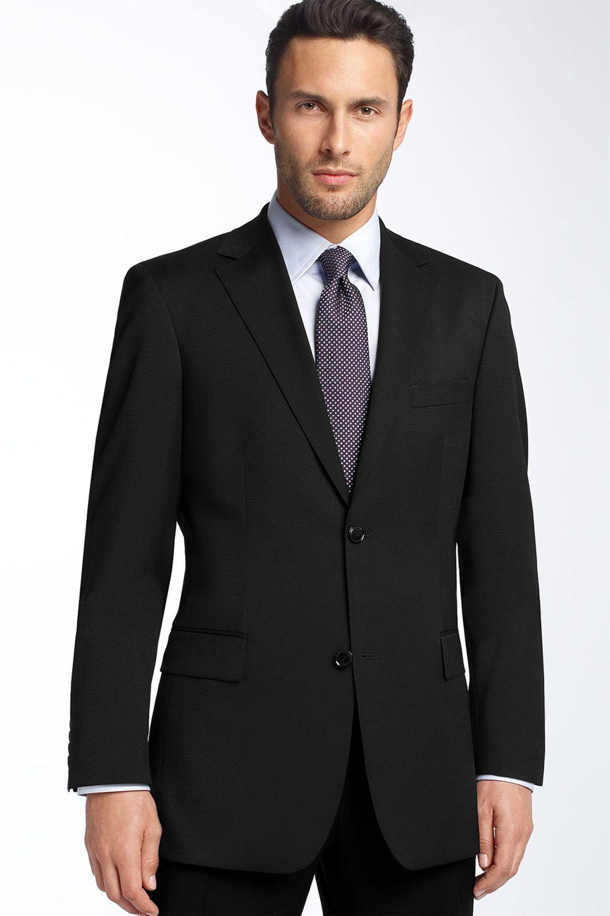 BOSS | BOSS HUGO BOSS 'Pasolini' Black Virgin Wool Sportcoat | Nordstrom  Rack
