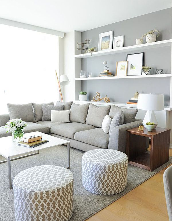 modern living room with soft colors home in 2018 Living Room