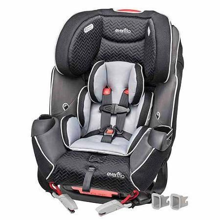 evenflo symphony lx all-in-one with suresafe car seat | car seats