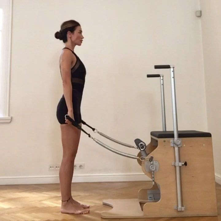 Armwork with wundachair f2 🔥🔥   #pilates     #pilatesbody     #pilatesf2     #pilatesf2chair     #pi...