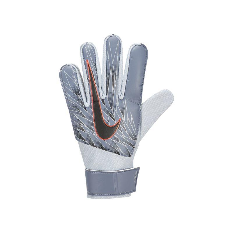 Nike Jr Match Goalkeeper Kids Football Gloves Blue With Images Soccer Gloves Kids Soccer Goalkeeper
