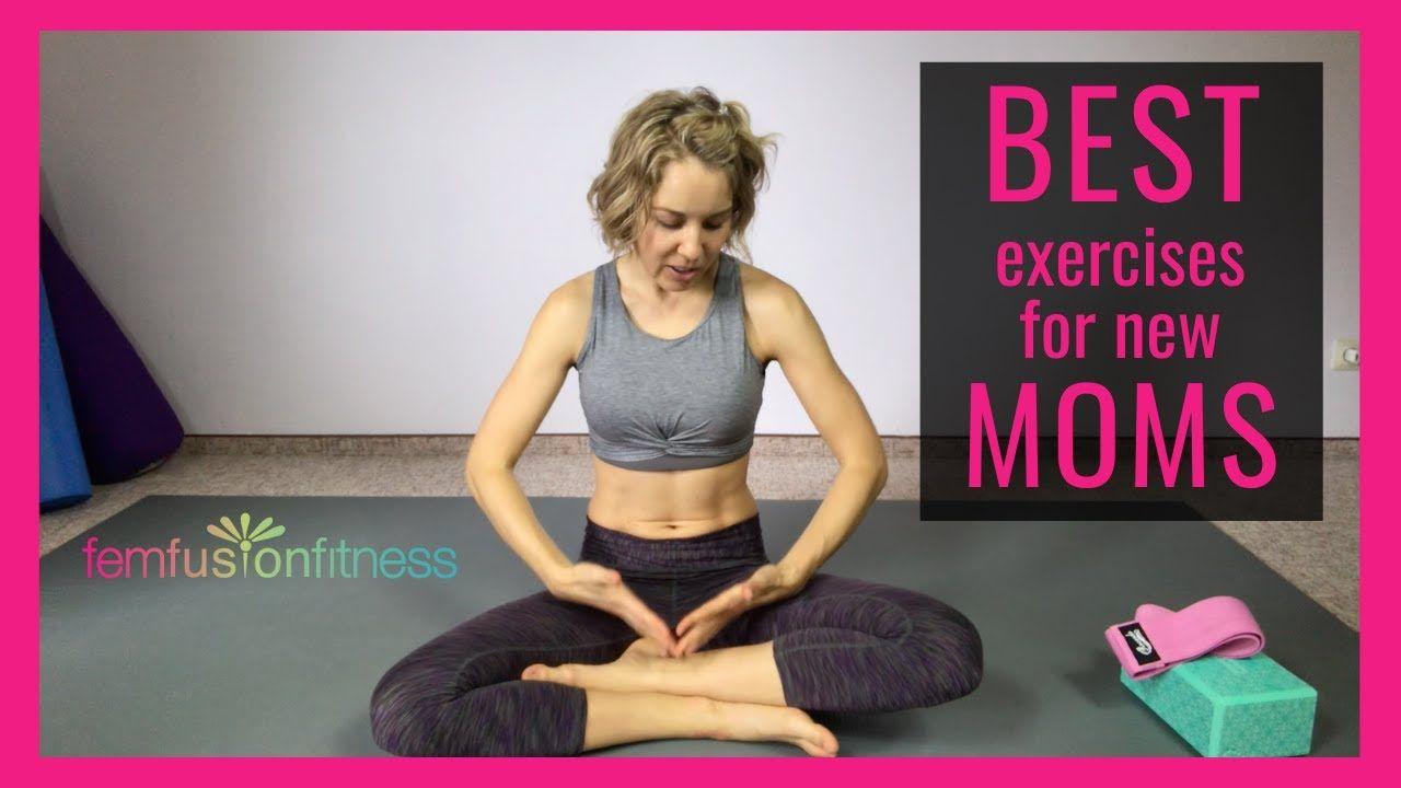 Best Exercises for New Moms Postpartum Recovery and