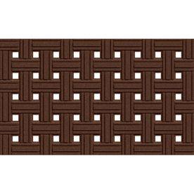 Elegant Apache Mills, Inc. Rectangular Door Mat (Common: 18 In X 30 In; Actual:  18 In X 30 In) 560 1451F