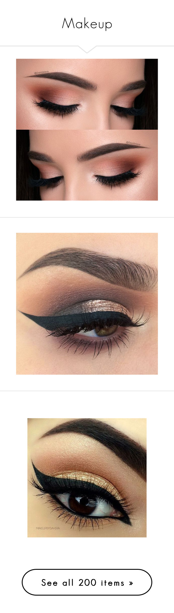 MAC Dazzleshadow ($18) liked on Polyvore featuring beauty
