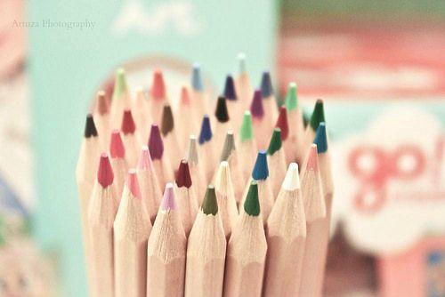 Colored Pencils - Creyones