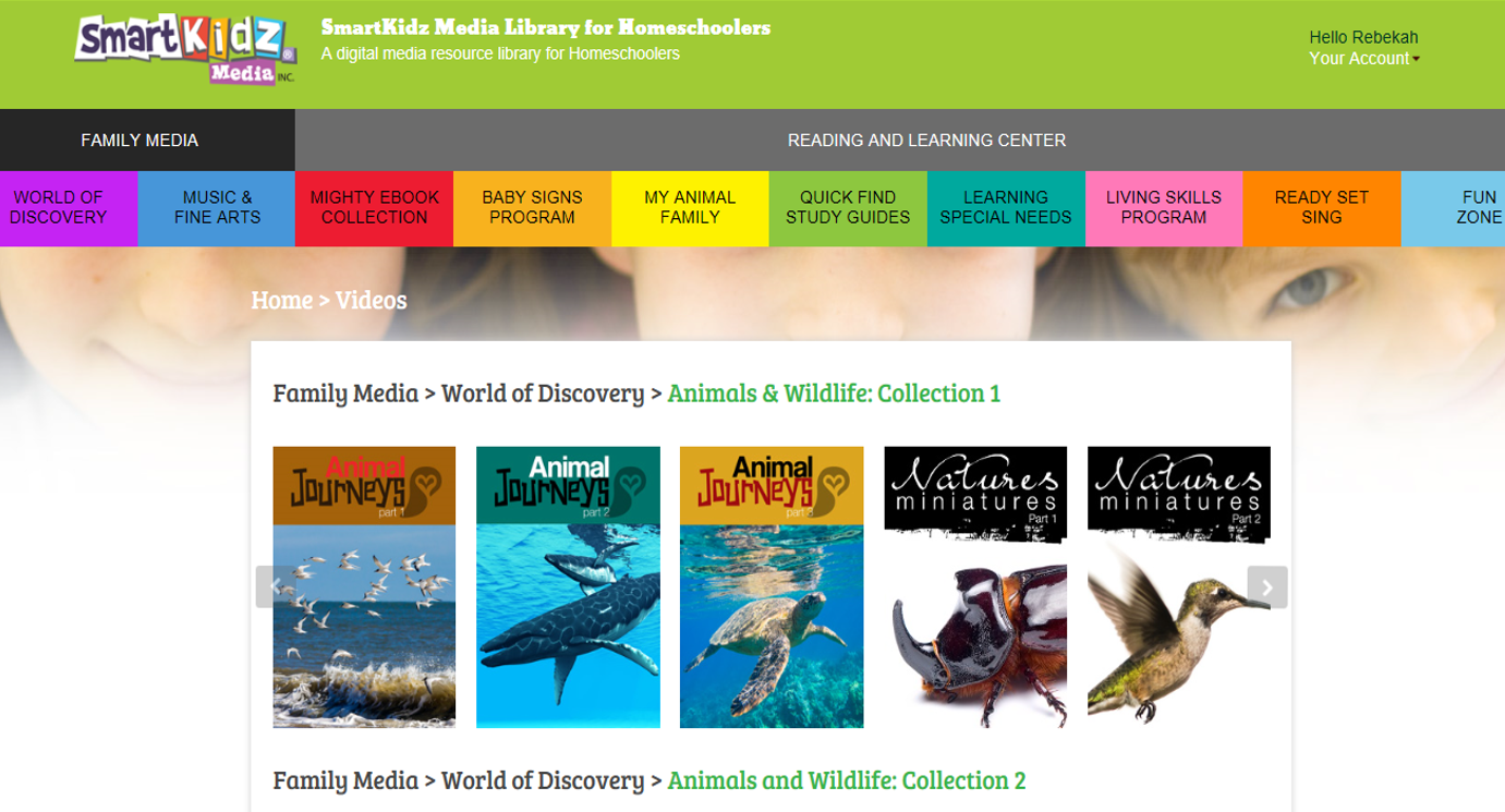 A Tos Review Smartkidz Media Library For Homeschoolers Living Skills Homeschool Library