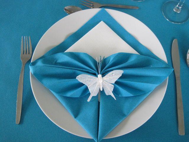 Tafelversiering مناديل Pinterest Napkins, Folding napkins and