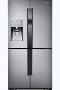 refrigerateur americain samsung rf858valasl frigo 489 l congelateur 276 l dimensions hxlxp. Black Bedroom Furniture Sets. Home Design Ideas