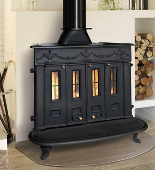 Las estufas chimenea estilo franklin que fabrica herg m for Chimenea hierro fundido
