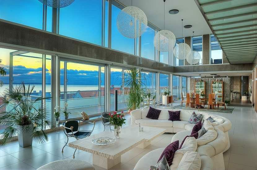 Inside Sweden S Most Expensive Home Expensive Houses Coastal Homes Swedish House