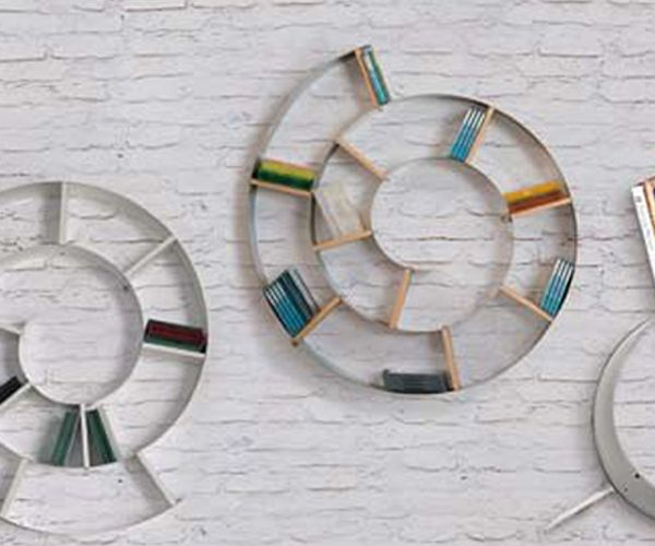 Etag re rangement cd murale design snail cd dvd blu ray - Etagere cd dvd murale ...