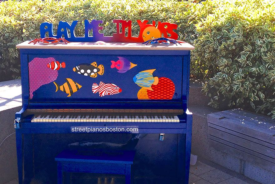 91 Beautiful Outdoor Pianos You Can Play All Around The