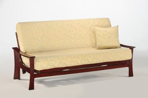 night  u0026 day furniture fuji rosewood futon frame  futon mattress removeable cover and pillows night  u0026 day furniture fuji rosewood futon frame  futon mattress      rh   pinterest
