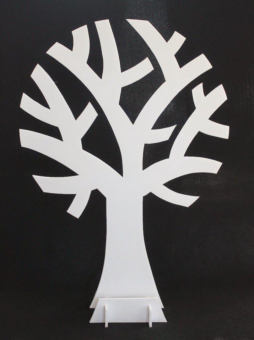 Wensboom maken draadenpapier gratis patroon diy pinterest bomen - Een houten boom maken ...