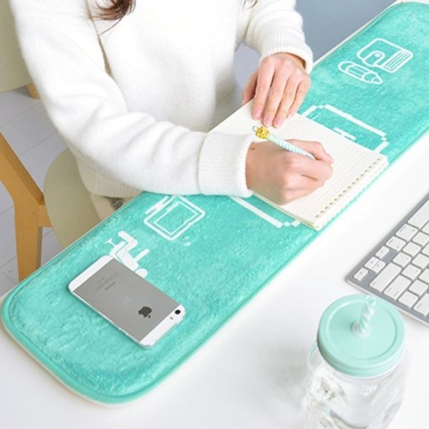 Office Desk Arm Elbow Wrist Cushion Rest Large Pad Keyboard Table
