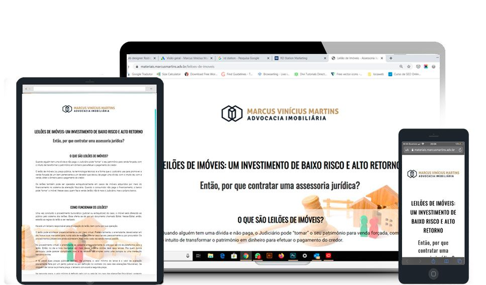 Criacao De Landing Page Em 2020 Estrategia De Marketing Digital Captacao De Clientes Criacao De Sites