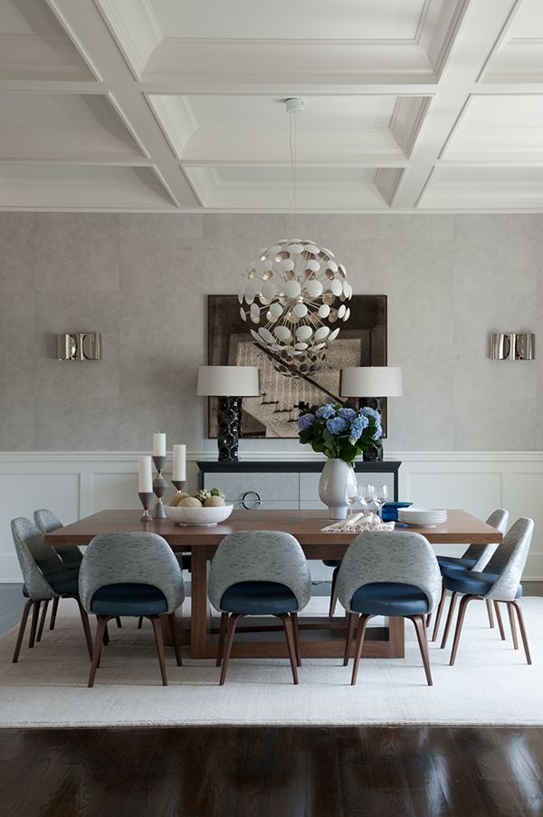 Very Modern Chic Dining I Love It Bridgehampton  Weitzman Delectable Modern Chic Dining Room Design Inspiration