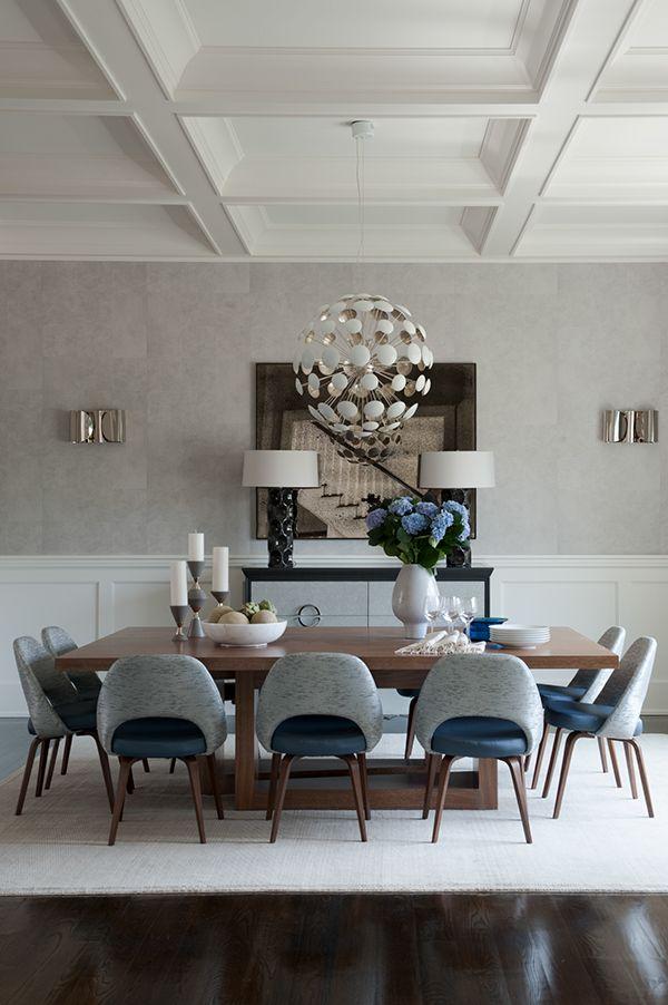 Bridgehampton By Weitzman Halpern Design Via Behance Midcentury Modern Dining Chairs Elegant Dining Room Dining Room Design