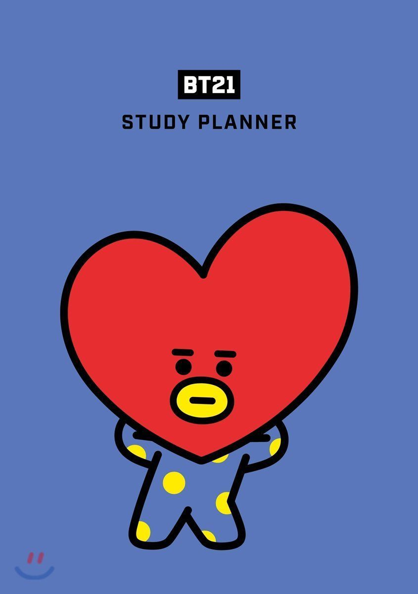 Bts Bt21 Study Planner Goods Rj Shooky Koya Chimmy Mang Cooky Tata