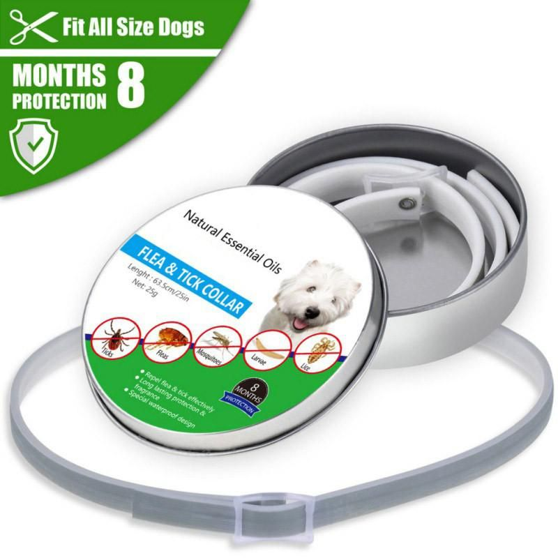 Outdoor Pet Collar Tpe Insect Mosquito Flea Prevention Ticks On