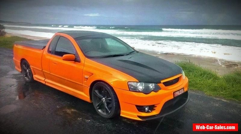Ford Xr6 Turbo Bf Mk2 Ute 400rkw Thousands In Parts Project