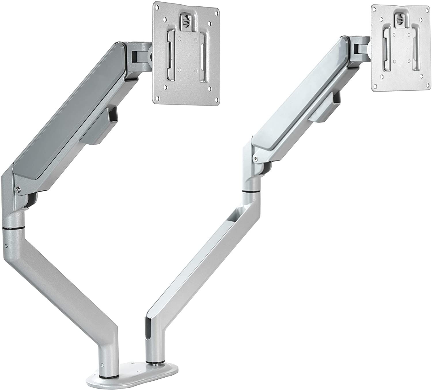 Price 59 99 Top Dual Monitor Stand Articulating Gas Spring In 2020 Dual Monitor Stand Top Computer Monitor Stand