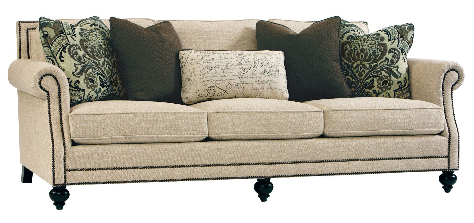 Bernhardt Brae Sofa B6717 Traditional Sofa Upholstered Sofa