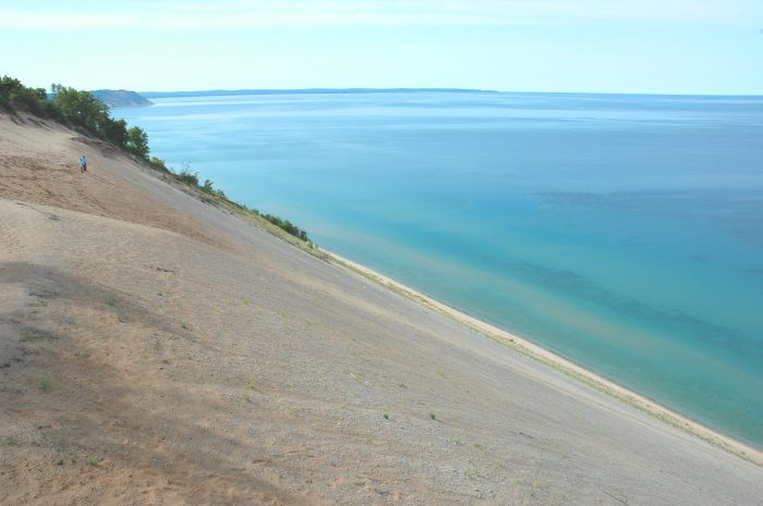 Sleeping Bear Dunes Information Traverse City Sleeping Bear Dunes Traverse City Michigan Beautiful Places In America